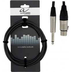 Alpha Audio Câble Jack/XLR 6M