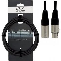 Alpha Audio Cable XLR/XLR 3M