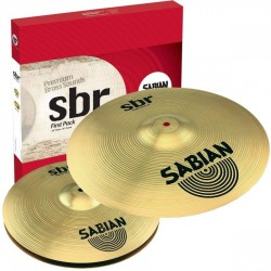 Sabian SBR 5001 Pack Cymbales Set Harmonique First