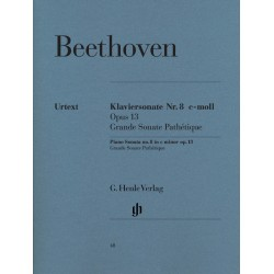 Ludwig van Beethoven : Sonate pour piano n° 8 en ut mineur op. 13 (Grande Sonate Pathétique)