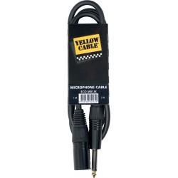 Yellow Cable M03JX  Jack/XLR Mâle 3M