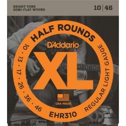 D'Addario EHR310 Demi Rond Regular Light 10-46