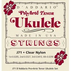D'Addario J71 Pro Arte Cordes Ukulélé Tenor