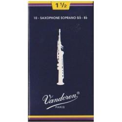 Vandoren SR2015 Anches Saxo Soprano 1.5