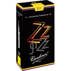 Vandoren SR4025 Anches ZZ Saxo Soprano 2.5