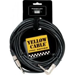 Yellow Cable PROG76D-C Jack/Jack Mono 6M