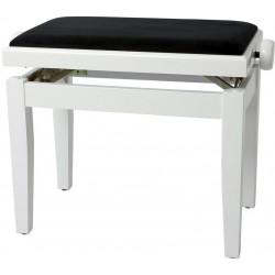 Gewa Banquette Piano Deluxe Blanc Brillant