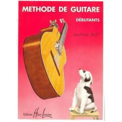 Billet Jean-Pierre : Méthode de Guitare Débutants