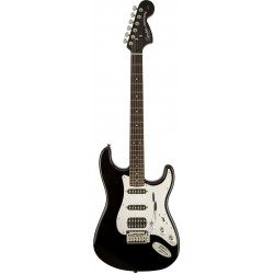 Squier Black and Chrome Standard Stratocaster