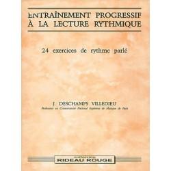 Deschamps, Villedieu, J. : Entraînement Progressif à La Lecture Rythmique