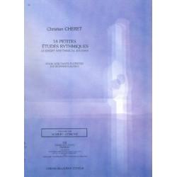 Christian Cheret : 18 Petites études Rythmiques, Flûte
