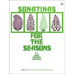Jane Bastien: Sonatinas For The Seasons