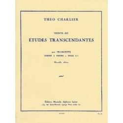 Theo Charlier : Trente Six Etudes Transcendantes Pour Trompette