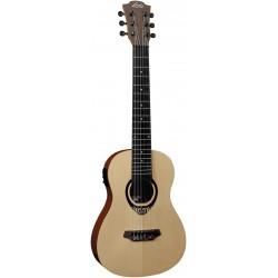 Lâg Tiki Uku Mini Guitar Électro-Acoustic