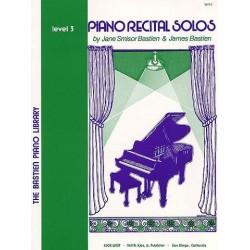 Jane Bastien : Piano Recital Solos Level 3