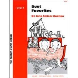 Jane Bastien : Duet Favorites Level 4