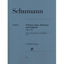 Robert Schumann : Scherzo, Gigue, Romance, Fuguette Opus 32