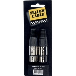 Yellow Cable XLR02
