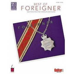 Best Of Foreigner Guitare Tab