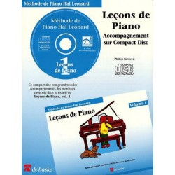 Méthode de Piano Hal Leonard : CD Leçons de Piano Volume 1