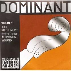 Thomastik 130 Dominant Corde de Mi pour Violon