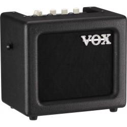 Vox Mini 3 G2 BK Combo 3 Watts Noir