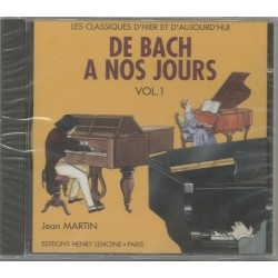 CD De Bach à Nos Jours Volume 1