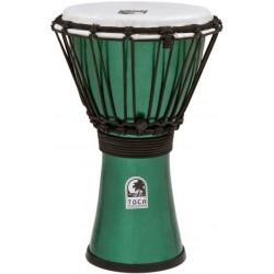 Toca TFCDJ-7MG Freestyle Colorsound Djembe Metallic Green