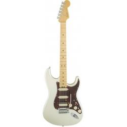 Fender American Elite Stratocaster HSS Shawbucker Olympic Pearl
