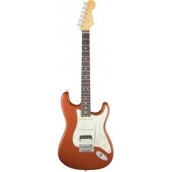 Fender American Elite Stratocaster HSS Shawbucker RW Autumn Blaze Metallic