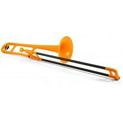 pBone Trombone Plastique Orange
