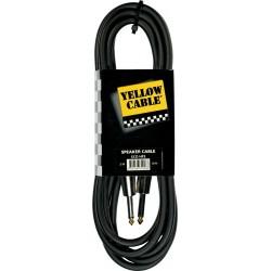 Yellow Cable HP3 Jack/Jack Haut-Parleur 3M