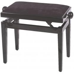 Gewa Banquette Piano Noir Brillant