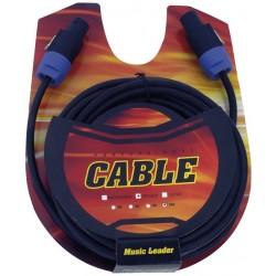 Music Leader LS302-10 Câble Speakon 10M