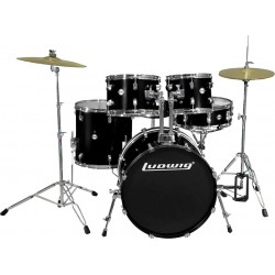 Ludwig LC170-1 Accent Fuse Black