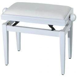 Gewa Banquette Piano Blanc Brillant