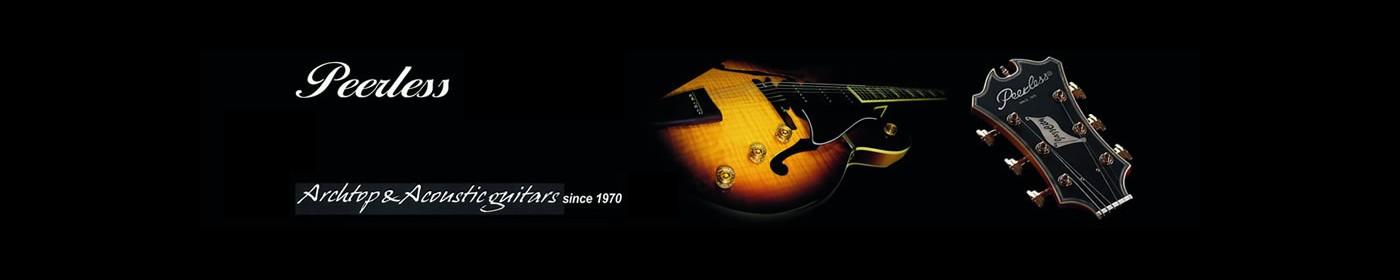 Guitares Peerless en stock