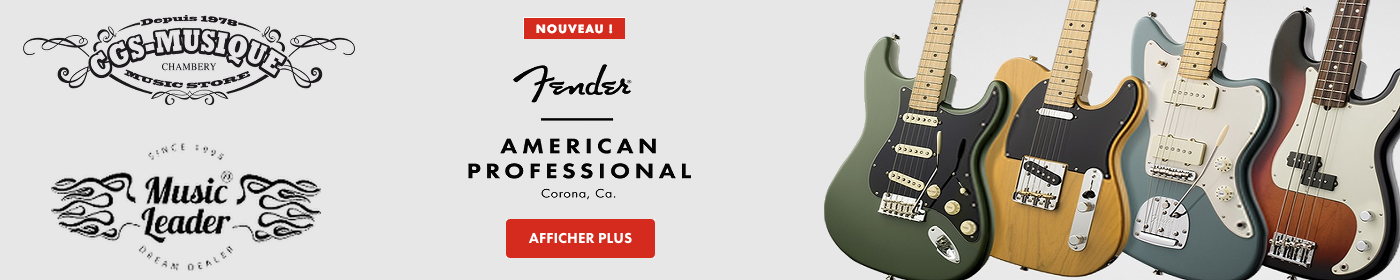 Fender American Professional 2017