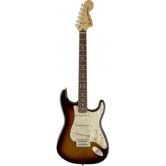 Fender Deluxe Roadhouse Stratocaster RW 3-Color Sunburst