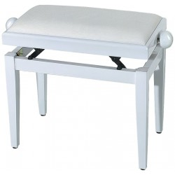 Gewa Banquette Piano Blanc Mat