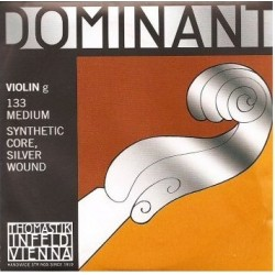 Thomastik 133 Dominant Corde de Sol pour Violon 3/4