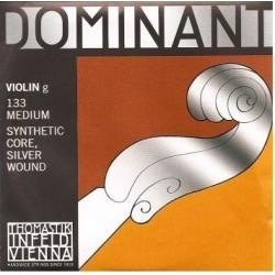 Thomastik 133 Dominant Corde de Sol pour Violon 1/2