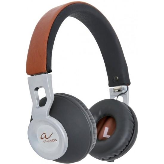 Alpha Audio Casque Audio Brown