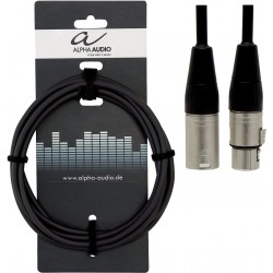Alpha Audio Cable XLR/XLR 3M