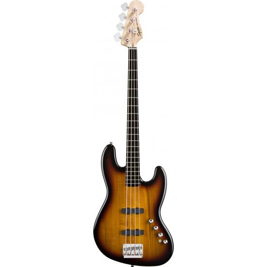 Squier Deluxe Jazz Bass IV Active 3-Color Sunburst