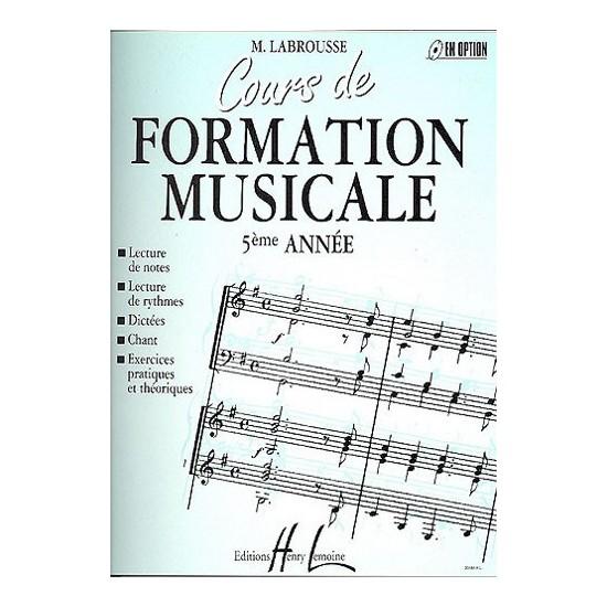 Labrousse Marguerite : Cours de formation musicale Vol.5