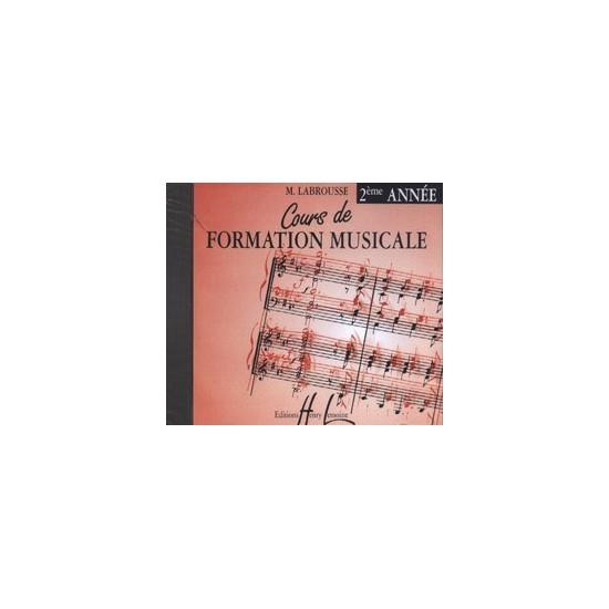 CD Labrousse Marguerite : Cours de Formation Musicale Vol.2