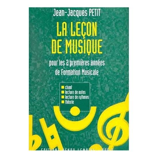 Petit Jean-Jacques : Leçon de Musique 1ère et 2ème Années