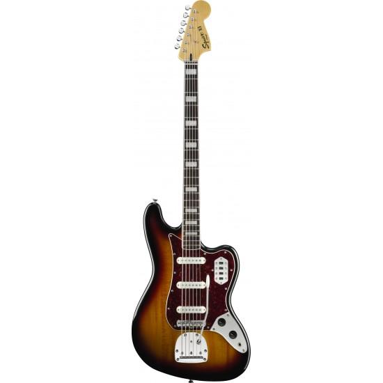 Squier Vintage Modified Bass VI 3-Color Sunburst
