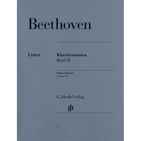 Ludwig van Beethoven : Sonates pour Piano Volume II